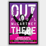 Paul Mccartney (2014) - Concert Poster - 13 x 19 inches