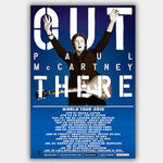 Paul Mccartney (2015) - Concert Poster - 13 x 19 inches