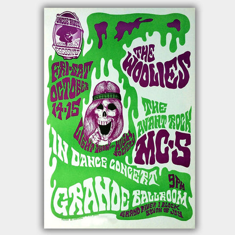 Mc5 (1966) - Concert Poster - 13 x 19 inches