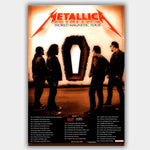 Metallica (2009) - Concert Poster - 13 x 19 inches