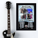 Metallica (2017) - Concert Poster - 13 x 19 inches