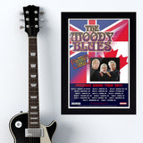 Moody Blues (2011) - Concert Poster - 13 x 19 inches