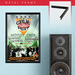 Motley Crue with Buckcherry (2008) - Concert Poster - 13 x 19 inches