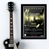 Motley Crue with Theory Of A Dead Man (2009) - Concert Poster - 13 x 19 inches