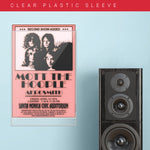 Mott The Hoople with Aerosmith (1974) - Concert Poster - 13 x 19 inches