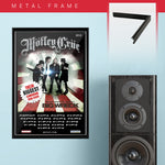 Motley Crue with Big Wreck (2013) - Concert Poster - 13 x 19 inches