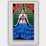 Monterey Pop Festival with Hendrix & Joplin (1967) - Concert Poster - 13 x 19 inches