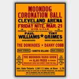 Moondog Ball  (1952) - Concert Poster - 13 x 19 inches