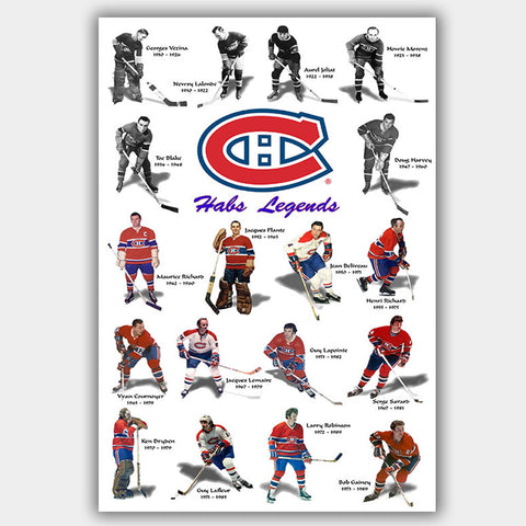 Montreal Canadiens - Poster - 13 x 19 inches