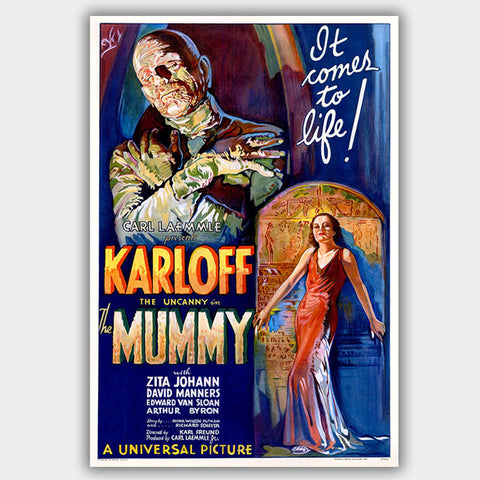 The Mummy (1932) - Movie Poster - 13 x 19 inches