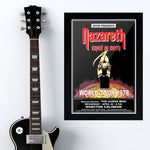 Nazareth with The Guess Who (1978) - Concert Poster - 13 x 19 inches