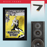The Narcotic Story (1958) - Movie Poster - 13 x 19 inches