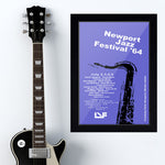 Newport Jazz Festival with Louis Armstrong (1964) - Concert Poster - 13 x 19 inches