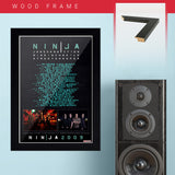 Nine Inch Nails with Janes Addition (2009) - Concert Poster - 13 x 19 inches