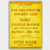 Charlie Parker (1955) - Concert Poster - 13 x 19 inches