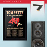 Tom Petty with Joe Walsh (2017) - Concert Poster - 13 x 19 inches