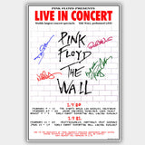 Pink Floyd (1980) - Concert Poster - 13 x 19 inches