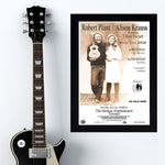Robert Plant & Allison Krauss with T Bone Burnett (2008) - Concert Poster - 13 x 19 inches