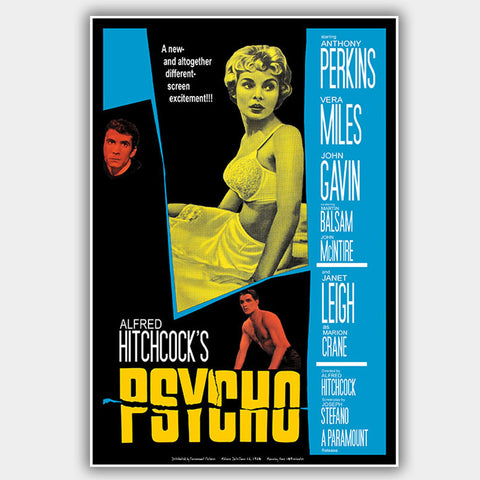 Psycho (1960) - Movie Poster - 13 x 19 inches