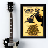 Queen (1977) - Concert Poster - 13 x 19 inches