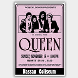 Queen with Pink (1978) - Concert Poster - 13 x 19 inches