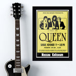 Queen with Yellow (1978) - Concert Poster - 13 x 19 inches