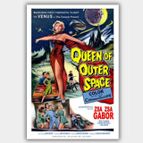 Queen Of Outer Space (1958) - Movie Poster - 13 x 19 inches