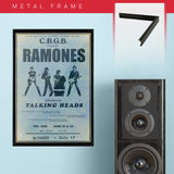 Ramones with Cbgb'S (1975) - Concert Poster - 13 x 19 inches
