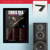Chris Rea (2012) - Concert Poster - 13 x 19 inches
