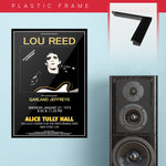 Lou Reed with Garland Jeffreys (1973) - Concert Poster - 13 x 19 inches