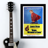 Rebel Without A Cause (1955) - Movie Poster - 13 x 19 inches