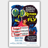 Return Of The Fly (1959) - Movie Poster - 13 x 19 inches