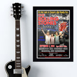 Rolling Stones with Tragically Hip (2005) - Concert Poster - 13 x 19 inches