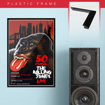 Rolling Stones (2012) - Concert Poster - 13 x 19 inches