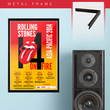 Rolling Stones (2014) - Concert Poster - 13 x 19 inches