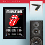 Rolling Stones (2015) - Concert Poster - 13 x 19 inches