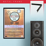 Rush (2011) - Concert Poster - 13 x 19 inches