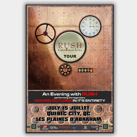 Rush (2010) - Concert Poster - 13 x 19 inches