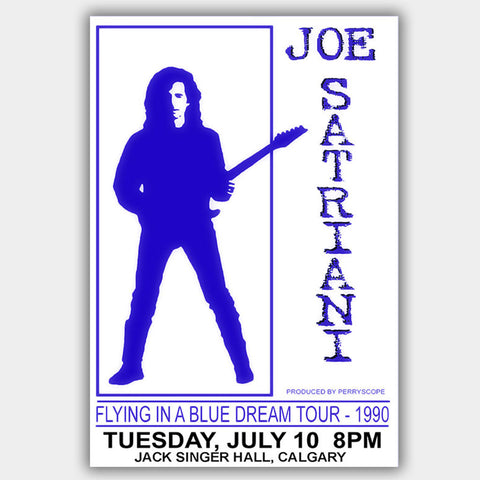 Joe Satriani (1990) - Concert Poster - 13 x 19 inches