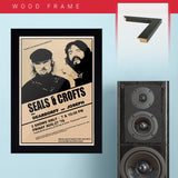 Seals & Crofts (1978) - Concert Poster - 13 x 19 inches