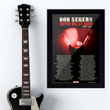 Bob Seger (2011) - Concert Poster - 13 x 19 inches