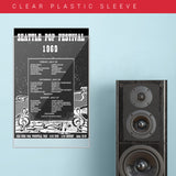 Seattle Pop Festival '69 (1969) - Concert Poster - 13 x 19 inches