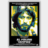 Serpico (1973) - Movie Poster - 13 x 19 inches