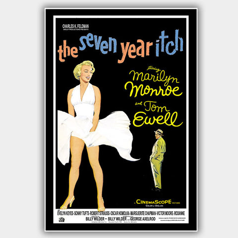 The Seven Year Itch (1955) - Movie Poster - 13 x 19 inches