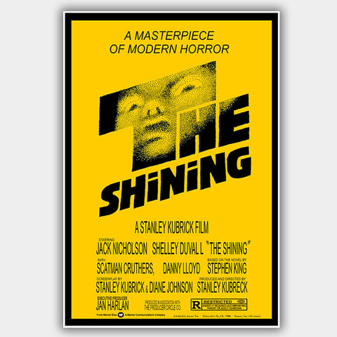 Shining (1980) - Movie Poster - 13 x 19 inches