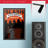 Slash with Myles Kennedy (2012) - Concert Poster - 13 x 19 inches