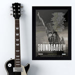Soundgarden (2017) - Concert Poster - 13 x 19 inches