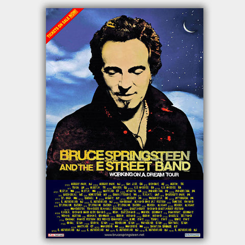 Bruce Springsteen (2009) - Concert Poster - 13 x 19 inches