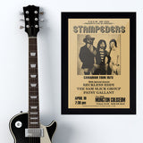 Stampeders with Patsy Gallant (1973) - Concert Poster - 13 x 19 inches