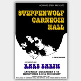 Steppenwolf with Rare Earth (1969) - Concert Poster - 13 x 19 inches